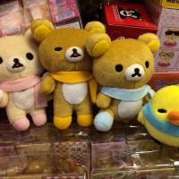 鬆弛熊冷頸巾景品中公仔鏈扣,鬆馳熊之家現貨發售中