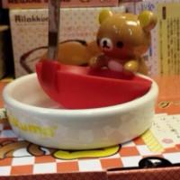 鬆弛熊12月新貨—心心篇 湯殻瓷碟,全1款