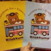 鬆弛熊x立川巴士限定—A4 file,全2款。