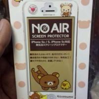 鬆弛熊日版 iPhone 5/5S/5C 保護貼。