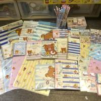 鬆弛熊3月新貨北極篇,各款紙品文具、FILE、鉛筆等等。