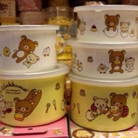 鬆弛熊日版—塘瓷密實盒,有2個、3個裝。