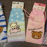 鬆弛熊4月新貨—毛巾質地 長身索袋,全3款
