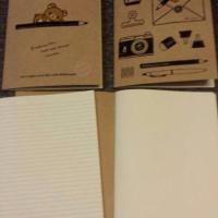 鬆弛熊4月新貨—Factory系列 單行簿、自由帳,各1款。