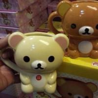 鬆弛熊3月景品—熊仔立體mug 杯,全2款。