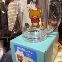 鬆弛熊4月新貨—食西瓜熊啤酒杯,全1款。