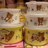 鬆弛熊日版塘瓷密盒。
