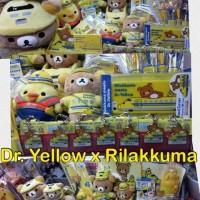 Dr. Yellow x Rilakkuma 各款產品