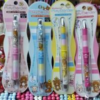 鬆弛熊10月新貨PlayBorder鉛芯筆、原子筆